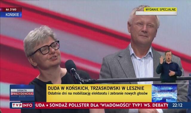 Andrzej Duda w Końskich mówił o szczepieniach