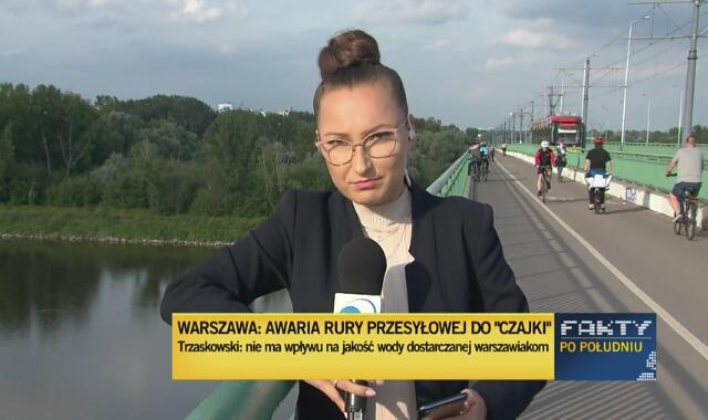 Druga w ciągu roku awaria kolektora ściekowego w Warszawie