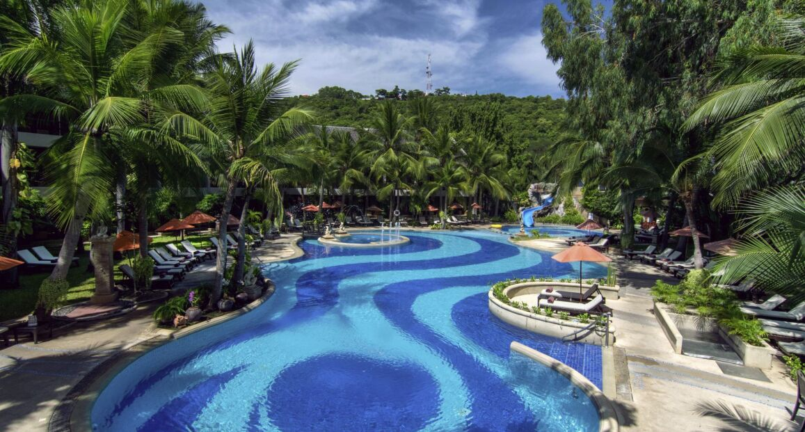 Siam Bayshore Pattaya Bangkok Tajlandia Opis Hotelu