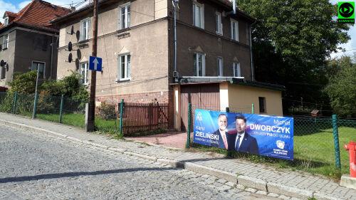 Plakat Wyborczy Zawieszony Bez Zgody Właściciela Posesji